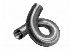 Воздуховод гибкий алюминевый гофрированный D90 L до 3м