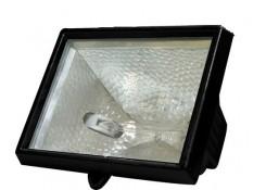 Прожектор 150W 230V R7S с лампой, черный,