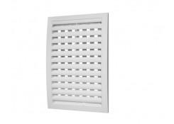 Решетка вентиляционная с регулируемым живым сечением разъемная 180x250 Эра 1825РРП