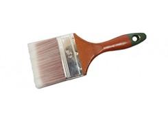 """Кисть с искусственным ворсом и деревянной ручкой 1""""/25мм"""