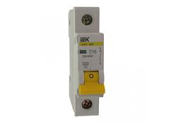 Автоматический выключатель ВА47-29 1P 16А C 4,5кА ИЭК
