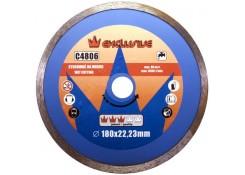 Сплошной алмазный диск 180x22.23 Corona C4806