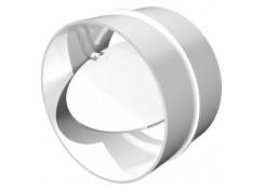 Соединитель круглых воздуховодов с обратным клапоном D100 10СКПО Эра