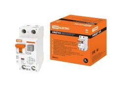 Автоматический выключатель дифференциального тока tdm авдт 63 2p c25 30ма