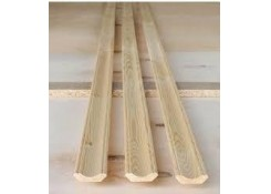 Плинтус деревянный 25мм-3,0м