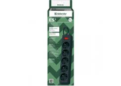 Сетевой фильтр Defender ES 5.0 5 розеток 5 м черный