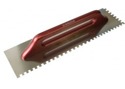 Терка гладкая зуб.6x6 480x130мм Corona C0561