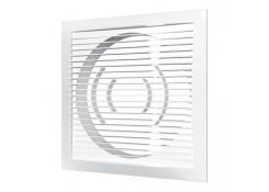 Решетка вентиляционная приточно-вытяжная 150х150 с фланцем D100 1515РС10Ф Эра