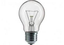 Лампа накаливания A50 75Вт E27 220В прозрачная TMK