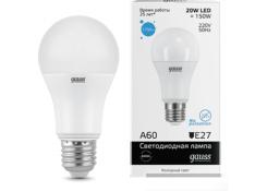 Лампа светодиодная Gauss LED Elementary A60 20W E27 1750lm 6500K