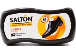 Губка Salton Волна, для обуви из гладкой кожи, черный