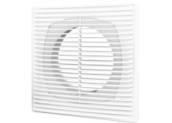 Решетка вентиляционная разъемная с фланцем D100 Эра 1515П10Ф
