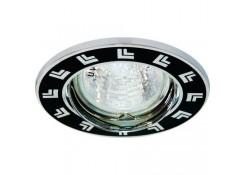 Светильник встраиваемый Feron DL2002-MR16 потолочный MR16 G5.3 черный