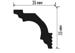 Багет декоративный Plintex IC35/35 SC-2м