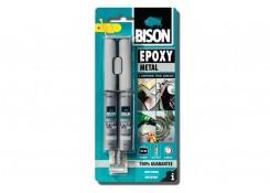 Bison Epoxy Metal, эпоксидный клей adeziv metal 2x12 ml