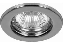 Светильник встраиваемый Feron DL10 потолочный MR16 G5.3 серебристый