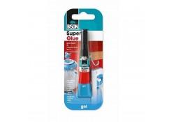 Универсальный суперклей Bison Super Glue 6304814 Gel поможет Вам моментально склеить почти любой вид материала