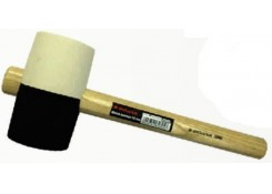 Молоток резиновый 60мм/450гр с деревянной ручкой Corona C2603
