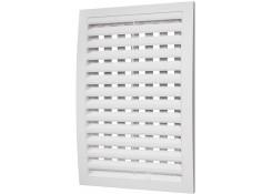 Решетка вентиляционная с регулируемым живым сечением разъемная 150x150 1515РРП