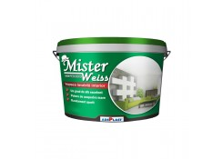 Краска для мытья интерьера, Mister Weiss, белая, 3 л