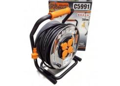 Удлинительный кабель катушки 4 розетки 50 м RICHMANN C5991