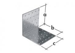 Уголок монтажный, равносторонний 60х60х80х2,0