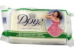 Хозяйственное мыло Друг для деликатной стирки и чувствительной кожи рук 135 г