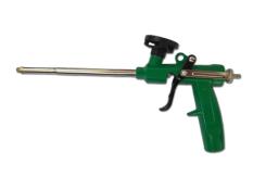 Пистолет для пены c алюминиевой зеленой ручкой