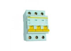 Автоматический выключатель VА47-29 3P 63А C 4,5кА ИЭК