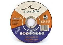Диск отрезной по металлу 115x1.6x22.23 Swordflex A46 TMD