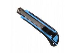Нож Corona 18 мм обойный прорезиненный + 3 лезвия C9101