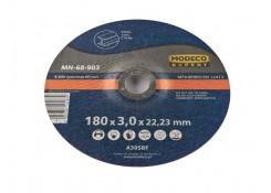 Modeco Выпуклый шлифовальный круг для резки металла  180x3.0x22.23
